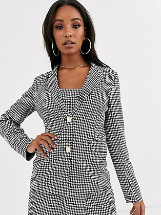 4th & Reckless blazer in houndstooth print-Multi