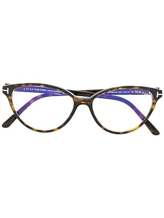 Tom Ford Eyewear tortoiseshell cat eye glasses - Brown