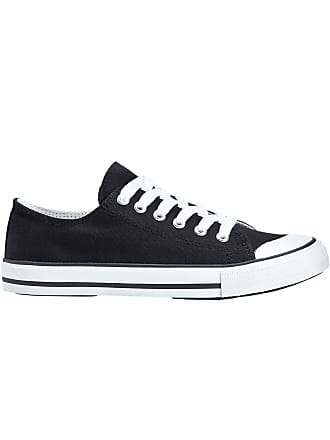 buy online 8e470 e16d2 Bonprix Dam Sneakers i svart - bpc collection