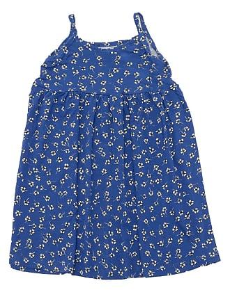 Rovitex Vestido Rovitex Menina Floral Azul