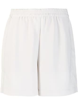 8pm striped pocket shorts - Neutrals