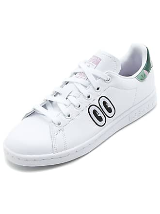 2e62a4b21f1 adidas Originals Tênis Couro adidas Originals Stan Smith W Branco