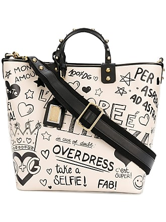 474f719b4be2 Dolce   Gabbana Beatrice mural tote bag - Neutrals
