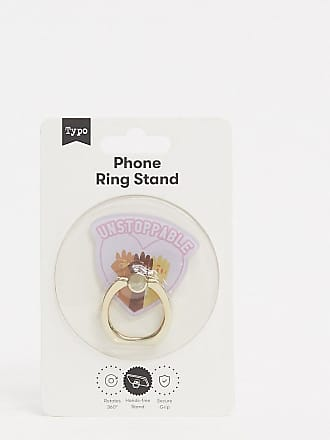 Typo Esclusiva Typo - Unstoppable - Anello per telefono con cuore-Multicolore