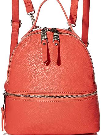 Steve Madden Womens JACKI Mini Backpack, Coral, 7.5 L x 8.25 H x 3.75 W