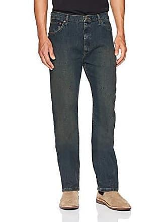 Wrangler Authentics Mens Regular Fit Jean with Flex Denim, Dark Tint, 30x30