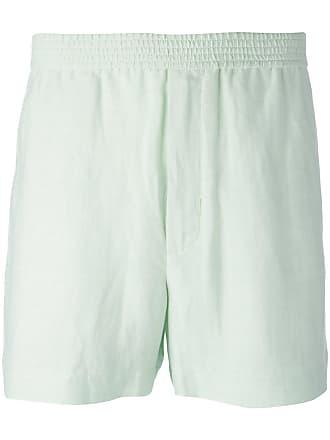 Qasimi elasticated waistband shorts - Green