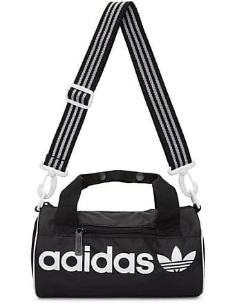 95c64ba6b1b39c adidas Originals Black Small Santiago Duffle Bag
