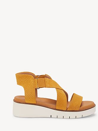 Corso Como Womens Boneigh Ankle Strap Wedges Amber Size 6 Leather From Sole Society