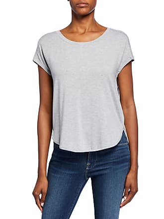 Joan Vass French Terry Rounded Tee