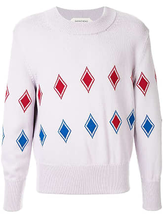 Namacheko geometric knit sweater - Roxo