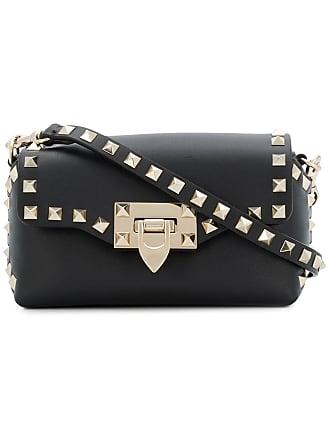 d7a1f8547 Valentino Valentino Garavani Rockstud crossbody bag - Black
