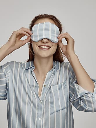 Asceno Sky Stripe Eye Mask