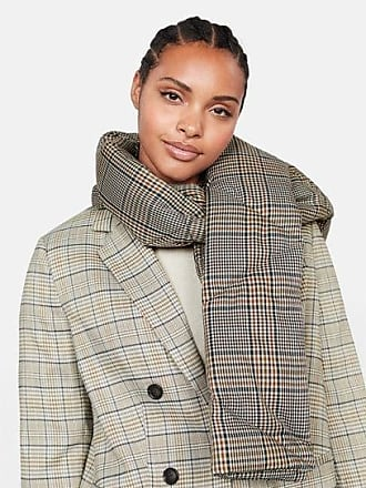 Violeta by Mango Printed quilted scarf