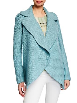 a27288930e74 St. John Notched Collar Knit Waterfall Boucle Jacket