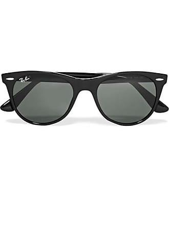 705089e40916b Ray-Ban The Wayfarer Ii Round-frame Acetate Sunglasses - Black