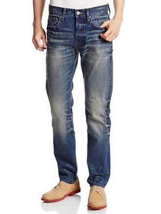 G-Star Mens 3301 Straight Leg Jean, Medium Aged, 38x36