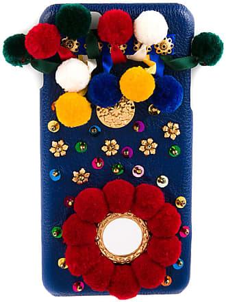 Dolce & Gabbana Capa para iPhone 6 - Azul