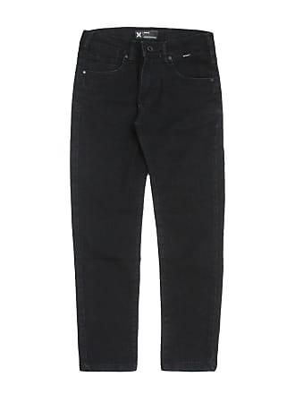 Hurley Calça Jeans Hurley Menino Lisa Preta