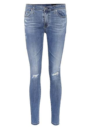 AG - Adriano Goldschmied The Legging Ankle blue skinny jeans