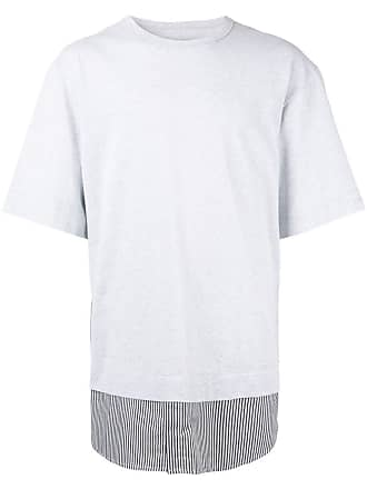 Juun.J short sleeve T-shirt - Cinza
