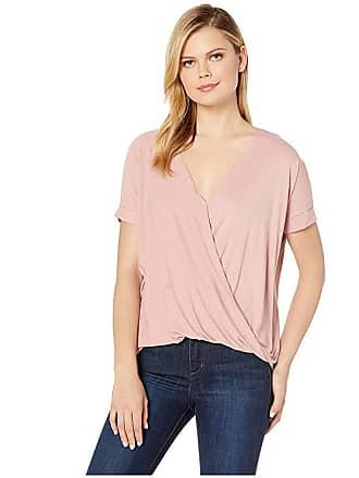American Rose Lillian Short Sleeve Top (Desert Rose) Womens Clothing