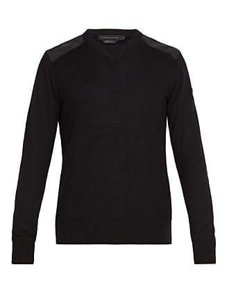 Canada Goose Mcleod Wool Sweater - Mens - Black
