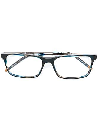 Etnia Barcelona Armação de óculos retangular Jasper - Azul