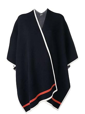 N.Peal blanket cape - Blue