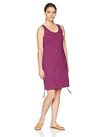 Columbia Womens Anytime Casual Dress, Intense Violet Print, S