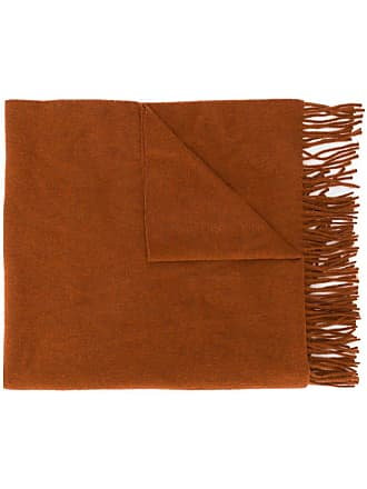 Acne Studios Canada New fringed scarf - Laranja