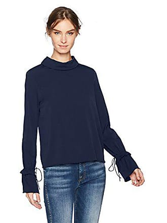 Vero Moda Womens Liva Bell Sleeve Top, Navy Blazer, Small