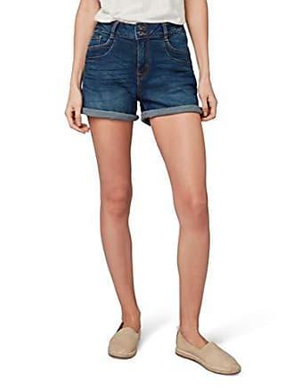 f262c4824d6773 Tom Tailor für Frauen Jeanshosen Casja Shorts Dark Stone wash Denim, XXL