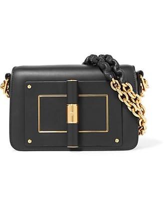 4def6c45223f Tom Ford Natalia Small Leather Shoulder Bag - Black
