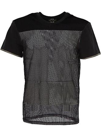 Versace Camiseta de Hombre Baratos en Rebajas Outlet, Negro, Poliamida, 2017, S