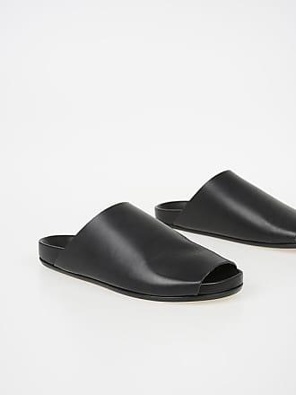 Rick Owens Leather GRANOLA SLIDE Slipper size 42