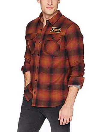 Fox Mens Gorman Overshirt 2.0, Bordeaux, XL
