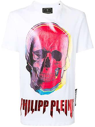 Philipp Plein skull print T-shirt - White