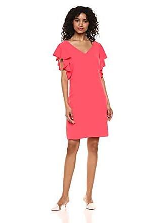 f817f47bbc5 Trina Turk Trina Trina Turk Womens Traverse Ruffle Sleeve Dress