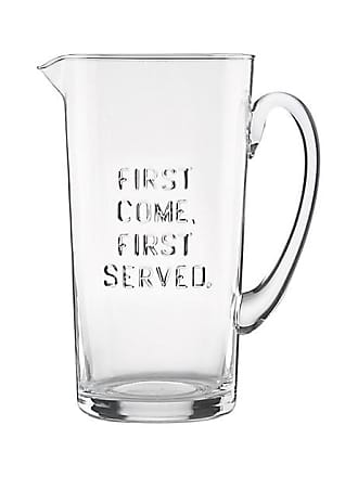 Kate Spade New York First Come First Served Pitcher, Clear