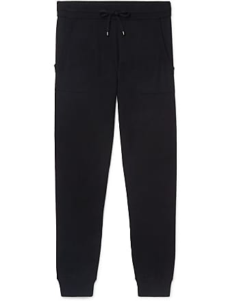 Zimmerli Tapered Cotton And Cashmere-blend Sweatpants - Navy