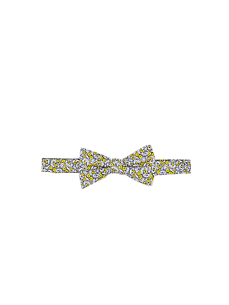 Tommy Hilfiger Silk London Floral Pre-Tied Bow Tie