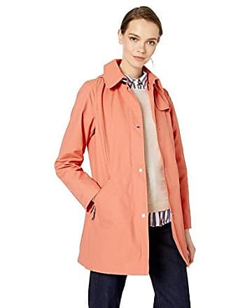Vince Camuto Womens Hooded Mid-Weight Jacket, Canyon Clay, M