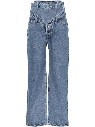 Y / Project High-rise wide-leg jeans