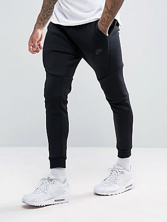 cheap for discount 70be0 8b2e0 Nike Pantalon de jogging slim en velours technique - Noir 805162-010 - Noir