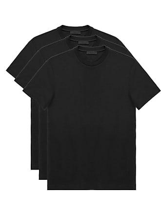 Prada three pack T-shirt - Black