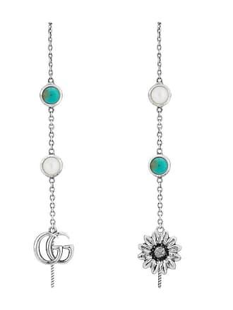 8b670e87b1f Gucci Double G flower drop earrings