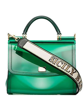Dolce   Gabbana Transparent Sicily shoulder bag - Green defd843c28538