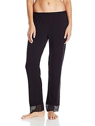 Cosabella Womens Minoa Wide Leg Pj Pants, Black Medium