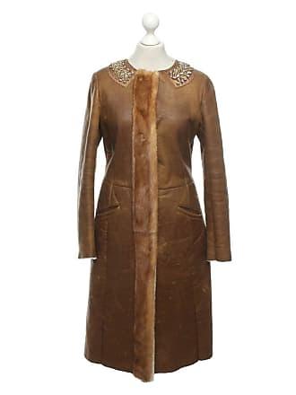 fb8b9b3e18777 Prada gebraucht - Jacke Mantel aus Pelz in Braun - DE 38 - Damen -